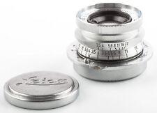 Leitz Leica Objektiv Summaron 3.5 3,5cm 35mm M39  SHP 50507