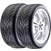 2 New Federal SS595 275/40R17 98V All Season Traction Performance UHP Tires