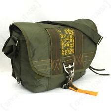 Olive Green Para Satchel Bag - USAF Airforce Paratrooper Shoulder Pack Army New