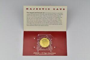 Marshall Islands Majestic Cats $10 Jaguar Commemorative Coin 1996 Sealed