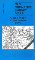 Old Ordnance Survey Map Alston Moor & Upper Weardale 1903 - England Sheet 25