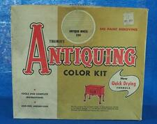 Vintage Trainer's Antiquing Color Kit Advertising Packaging