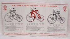 Vintage Catalog Velocipedes Skippy Racers Fold Out Pamphlet Photos 1950s
