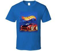 Hot Wheels Blue T shirt