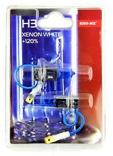 Sho-Me H3 - 2 x BOMBILLA 55W 12V 4300K +120% LUZ BLANCA EFECTO XENON WHITE