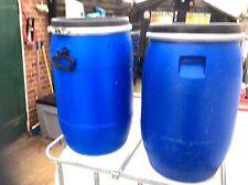 60 Litre waterproof plastic barrel, canoeing kayaking sailing dry storage