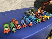 Lot of 17 Thomas The Train & Friends Wooden Magnetic Trains Tenders Tankers Rare