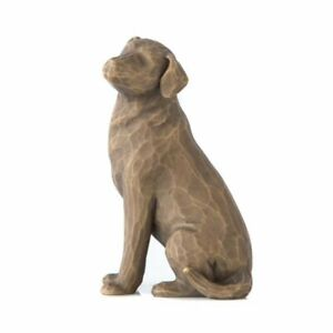 "Willow Tree ""Love My Dog"" (Dark) Figurine by Susan Lordi"