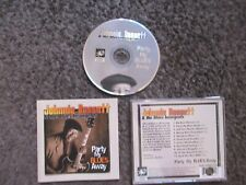 "JOHNNIE BASSETT ""PARTY MY BLUES AWAY"" 1999 NM/NM OUT OF PRINT GUITAR BLUES CD"
