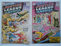 Brave Bold #29 & #30 (1960) - Low Grade,  Justice League of America