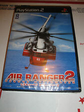 BRAND NEW Original PS2 Playstation 2 game Air Ranger 2 Rescue Helicopter NTSC-J