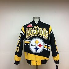 Pittsburgh Steelers 6-Time Superbowl Champions Jacket cc50a40b5