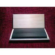 """8"""" x 3"""" x 1""""  Black Arkansas Whetstone Knife Sharpener/Box  (1200 Grit US)"""