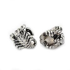 Scorpion Charm European Bead Compatible for Most European Snake Chain Bracelet