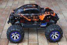 Custom Bug Body Muddy Orange for Traxxas Summit 1/10 Volkswagen Baja Bug Beetle