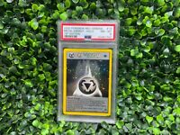 Pokemon 1st Edition HOLO 2000 METAL ENERGY Neo Genesis PSA 8 MINT
