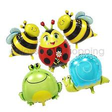 5Pieces Insects Balloons Animal Decoration Baby Shower Birthday Party Supply