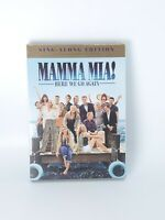Mamma Mia! 2 Here We Go Again! Sing Along Edition (DVD) 2018 w/Slipcover  SEALED
