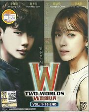 W TWO WORLDS - COMPLETE KOREAN TV SERIES DVD BOX SET ( 1-16 EPS)