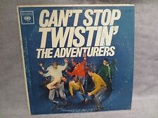VINTAGE 1961 CANT STOP TWISTIN' THE ADVENTURERS ALBUM LP RECORD COLUMBIA CL1747