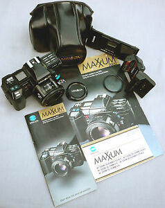 REDUCED!!! Crossed XXs MINOLTA MAXXUM 7000 Exc-Mint 1985 Collection Rare Pieces
