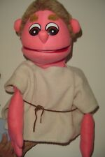 Shepherd man boy puppet, used, Bible stage puppet, professional, Christmas