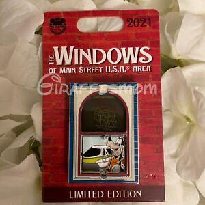 Disney Parks Windows Of Main Street Goofy Pin LE 3000 NWT
