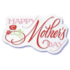 HAPPY MOTHERS DAY - CAKE DECORATING TOPPER - ONE PIECE