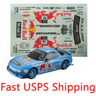 Decals Sticker for 1/10 scale rc racing touring drift car body RX7