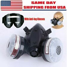 Special Offer 1060 Face Gas Mask Filter Safety Gas Chemical Respirator Glasses