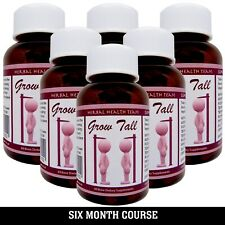 Bone Growth Pills SAFELY BE TALLER 6 Month Course LIMITED OFFER PRICE $117.99