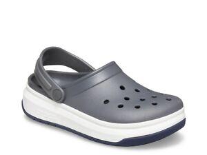 NEW Crocs Crocband Full Force Clog GRAY US Men's Size 9 (Womens 11)