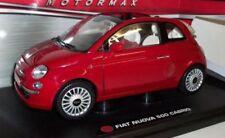Modellini statici di auto, furgoni e camion rosso per Fiat Scala 1:18