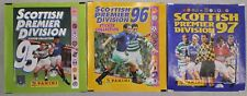 PANINI scottish premier Division Adesivo Collection 95, 96 & 97 pacchetti non aperti