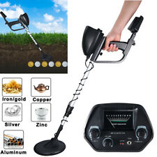 Waterproof Metal Detector wtith Headphone Deep Sensitive Search Gold Digger New