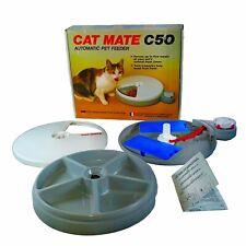 Cat Mate Automatic Pet Feeder Dog Cat Programmable 5 Meals Food Dispenser C50