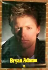 Bryan Adams '85 Reckless Poster 24x36 promotional