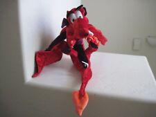 "Giant Big Classic Toy Co RED FIRE DRAGON 30"" Plush Stuffed Animal"