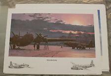 Keith Woodcock - Wellingtons - Wellington Bomber