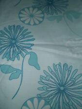 Vintage LARGE RETRO BLUE FLORAL Fabric (50cm x 50cm)