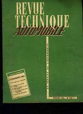 (C11)REVUE TECHNIQUE AUTOMOBILE PEUGEOT 403 / MERCEDES 180 et 300