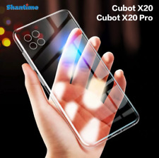 For Cubot X20/X20 Pro Ultra Thin Clear and Soft Transparent / Black Phone Case