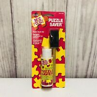 Mod Podge Plaid Puzzle Saver With Foam Brush Dries Quickly Waterbase New