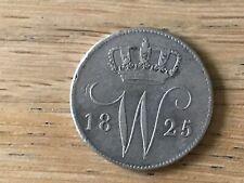 25 Cent 1825 U  Z. Fr.