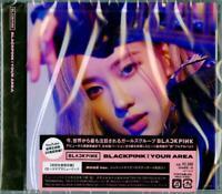 BLACKPINK-IN YOUR AREA (ROSE VER.)-JAPAN CD Ltd/Ed F56