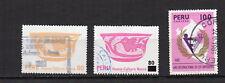 PEROU 1978-81 3 timbres oblitérés /T4154