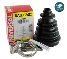 Bailcast High Quality Universal CV Boot Kit Including Clips and Grease Easy Fit