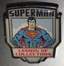 Funko Superman Pin DC Legion Of Collectors 2017 [PandP]