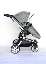Poussettes et systèmes combinés de promenade gris avec dossier réglable pour bébé