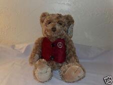 "Helzberg Diamonds Limited Edition 14"" Plush I Am Loved Bear Make A Wish w/ bag"